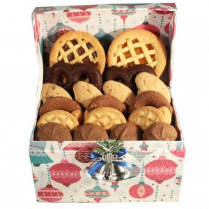 Let it Snow – Cookies Christmas Gift Basket