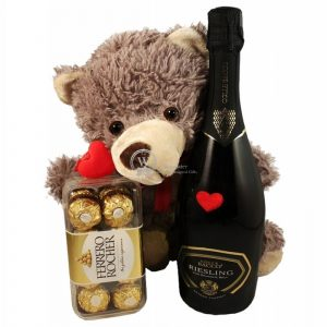 Love Is Wherever You Go With Sparkling Wine – Christmas Gift