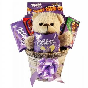 Milka Surprising – Chocolate Christmas Gift Basket