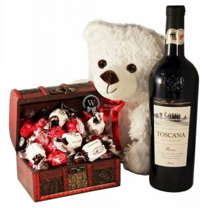My Sweet Treasure with Red Wine – Christmas Gift