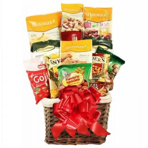 Nuts About You – Healthy Christmas Gift Basket