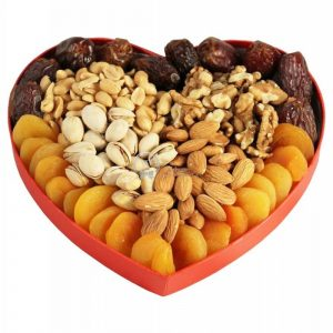 Nuts and Heart – Healthy Christmas Gift