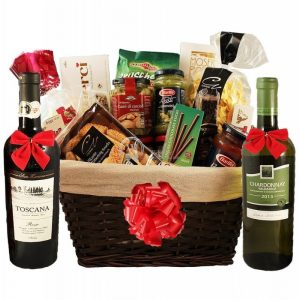 Perfecto Italia with Red & White Wine – Christmas Gift