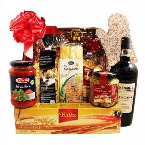 Primavera – Pasta Christmas Gift Basket
