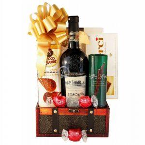 Pure Gratitude Christmas Gift Basket