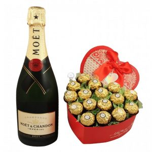 Pure Love Affection – Champagne Christmas Gift