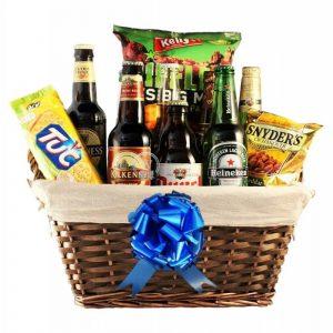 Rock the Kmet Beer Christmas Gift Basket