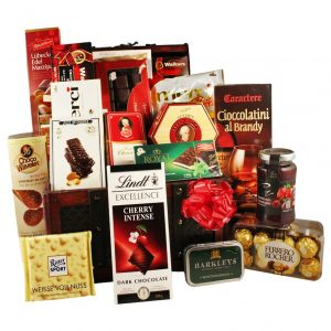Special Occasions – Chocolate Christmas Gift Basket
