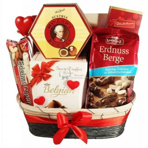Sweet Devotion – Chocolate Christmas Gift Basket