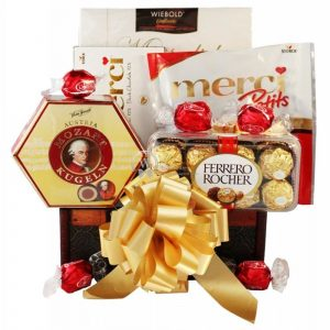 Sweet Lover – Chocolate Christmas Gift Basket