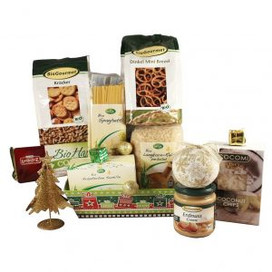 Take it Organic – Bio Organic Christmas Gift Basket