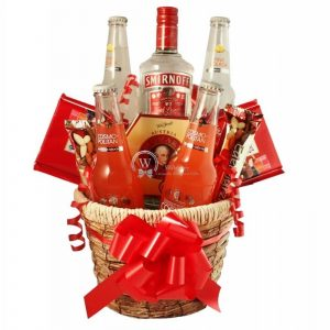 Temptations – Vodka Christmas Gift Basket