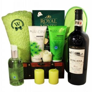 The Green Garden – Spa Christmas Gift Basket