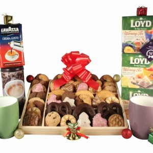 White Breakfast – Tea & Coffee Christmas Gift Basket