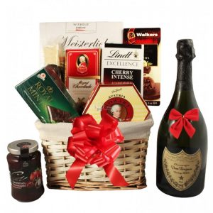 You're A Superstar – Dom Perignon Champagne Christmas Gift Basket
